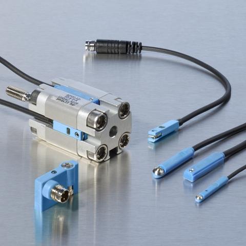Pneumatischer Zylinderschalter für Rundzylinder Pneumatik Zylinder